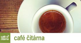 Literární kavárna Café čítárna