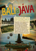 Plakát přednáška Bali a Jáva