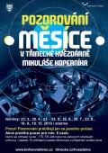 Pozorování Měsíce v třinecké hvězdárně Mikuláše Koperníka
