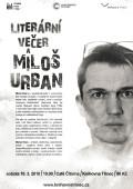 Literární večer a Miloš Urban