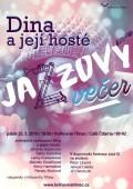 Jazzový večer Dina a její hosté plakát