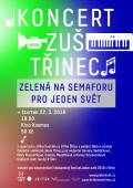 Koncert Zelená na semaforu Jeden svět Třinec 2018