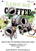 Language coffee 2018 květen plakát