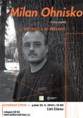 Milan Ohnisko Spisovatelé do knihoven plakát