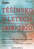 Těšínsko v letech 1918-1920 WEB