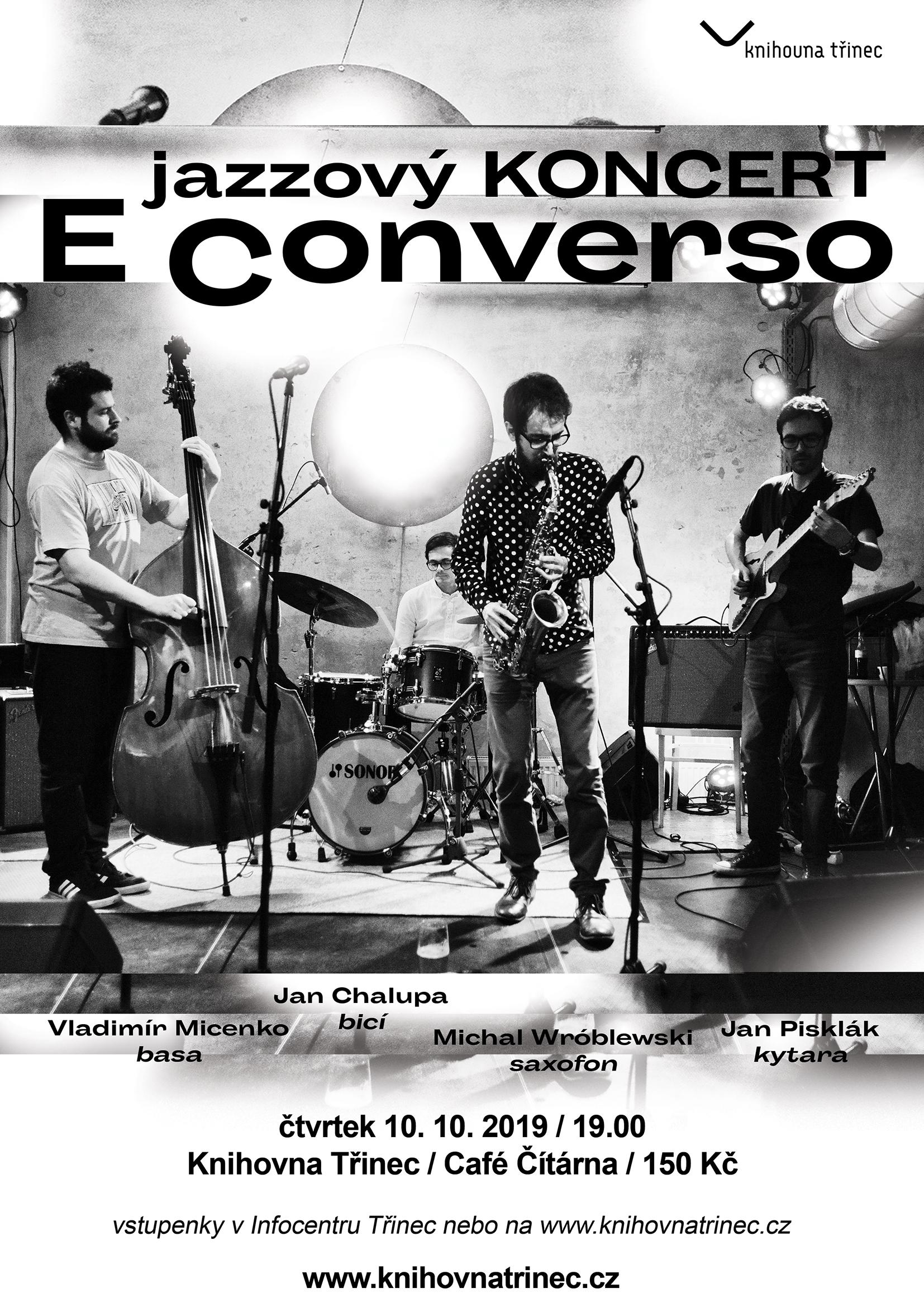 jazzový koncert E Converso WEB