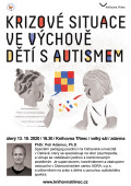 Krizové situace ve výchově dětí s autismem WEB